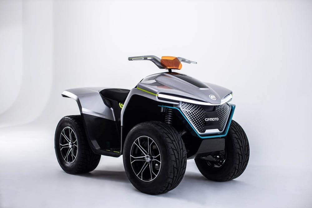 cfmoto electric concept atv